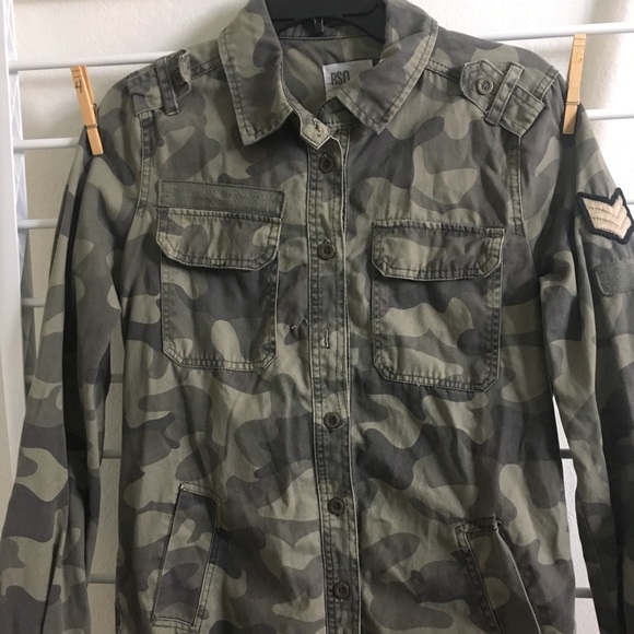 RSQ Other - RSQ Army Jacket